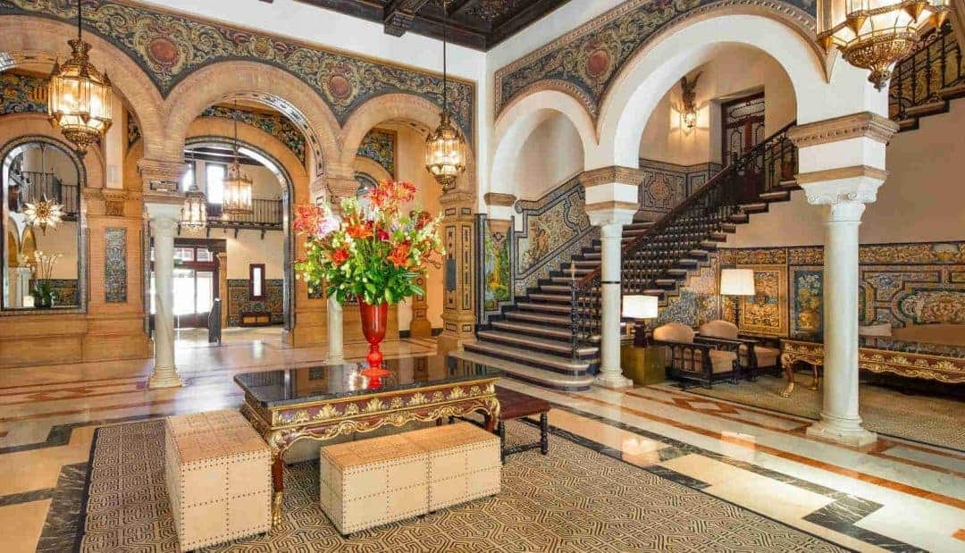 Red Hot Again:  The Glamorous Hotel Alfonso XIII in Seville Spain