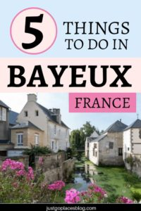 Ever heard of Bayeux, France? Bayeux is famous for the UNESCO-recognized Bayeux tapestry, but its history is also something to discover. Read this post and find out the very interesting history of this town + a list of things to do in Bayeux, France, which include visiting the 900+ year old Bayeux Cathedral, the Bayeux Tapestry Museum and the Bayeux war cemetery. #bayeux #france #tapestry #unesco