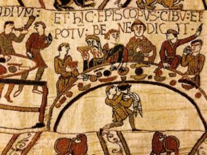 A Bayeux tapestry image shows the level of detail in the famous Bayeux Tapestries