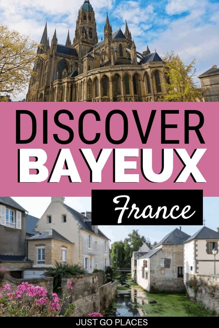 Bayeux France has been part of 2 epic invasions a thousand years apart (the Norman Conquest and the D-Day Landings)