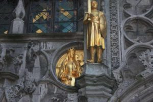 Statues at the Church of the Holy Blood