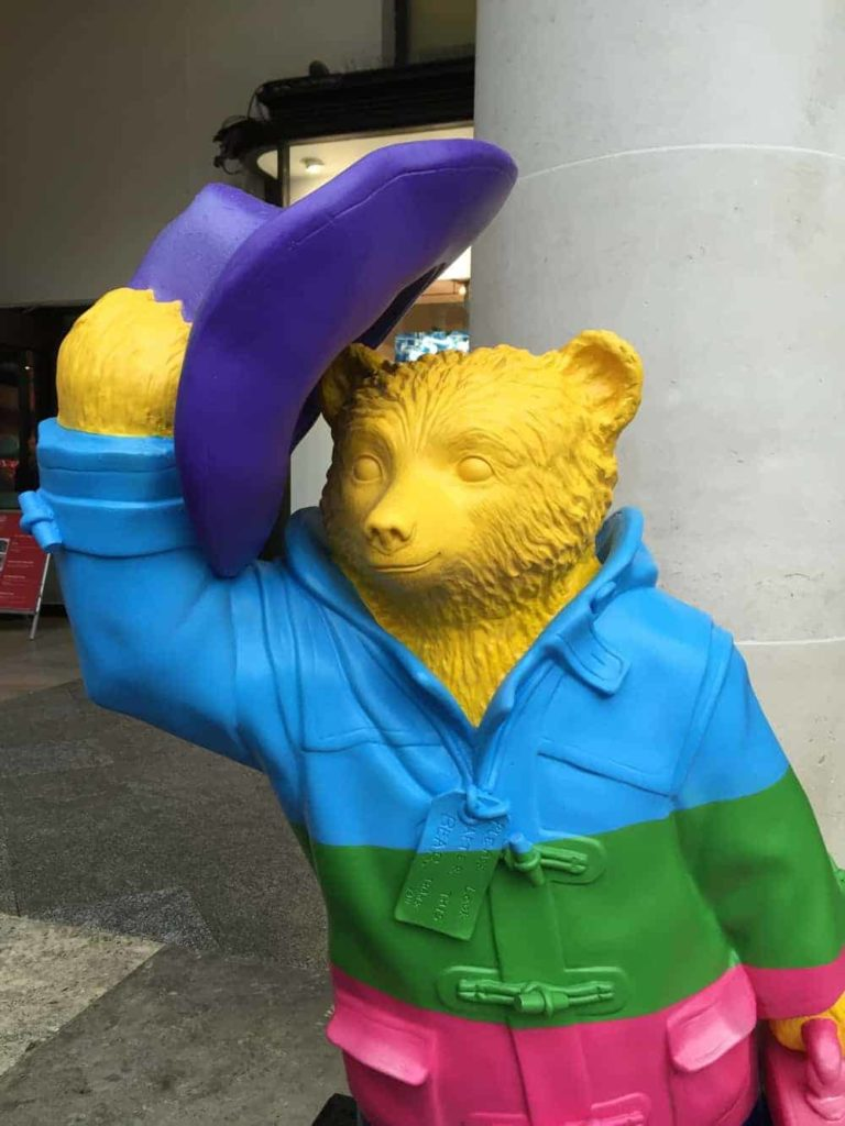 rainbow bear by Darcey Bussell