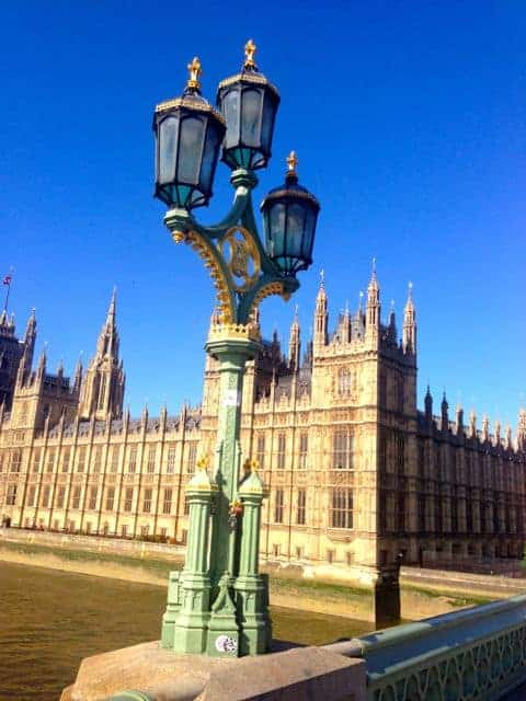Touring The Houses of Parliament in London
