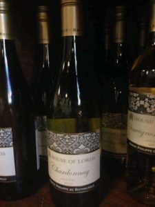 House of lords wine