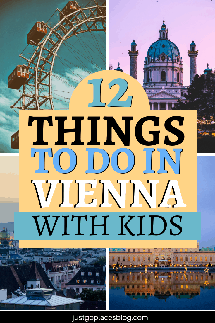 If you are planning to travel to Vienna, Austria, with the whole family, you might wanna check out our Vienna family travel guide for what to do in Vienna with children. Discover what are the best 5 things to do in Vienna with kids. It includes an interactive museum and a vintage amusement park… and much more. #vienna #austria #kidfriendly #travelwithkids