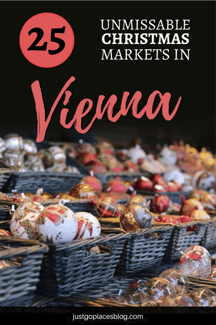 With 25+ Christmas Markets in Vienna