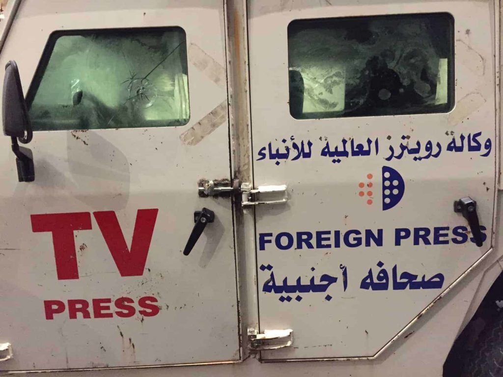 reuters press van