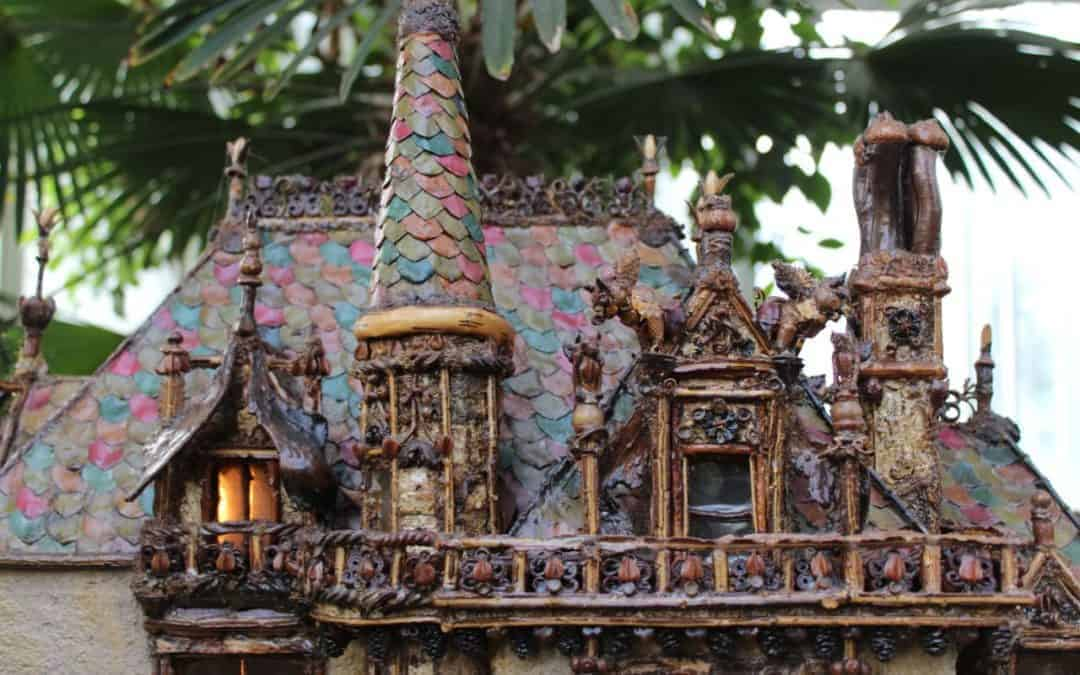 Incredible Botanical Architecture at New York's Holiday Train Show