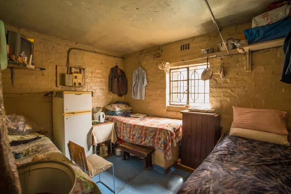 South Africa, District 6 Museum, Cape Town Township home