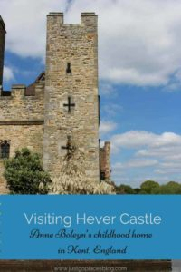 The Hever Castle & Gardens in Kent England