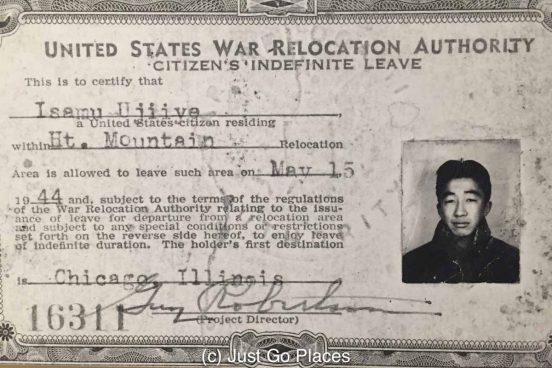 After their Heart Mountain internment at the end of World War II, the Japanese-Americans were told to scram.