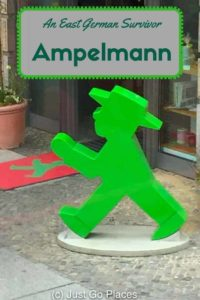 Ampelmann appears on the pedestrian crossings