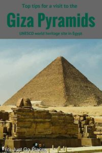 Top tips for a visit to Giza pyramids