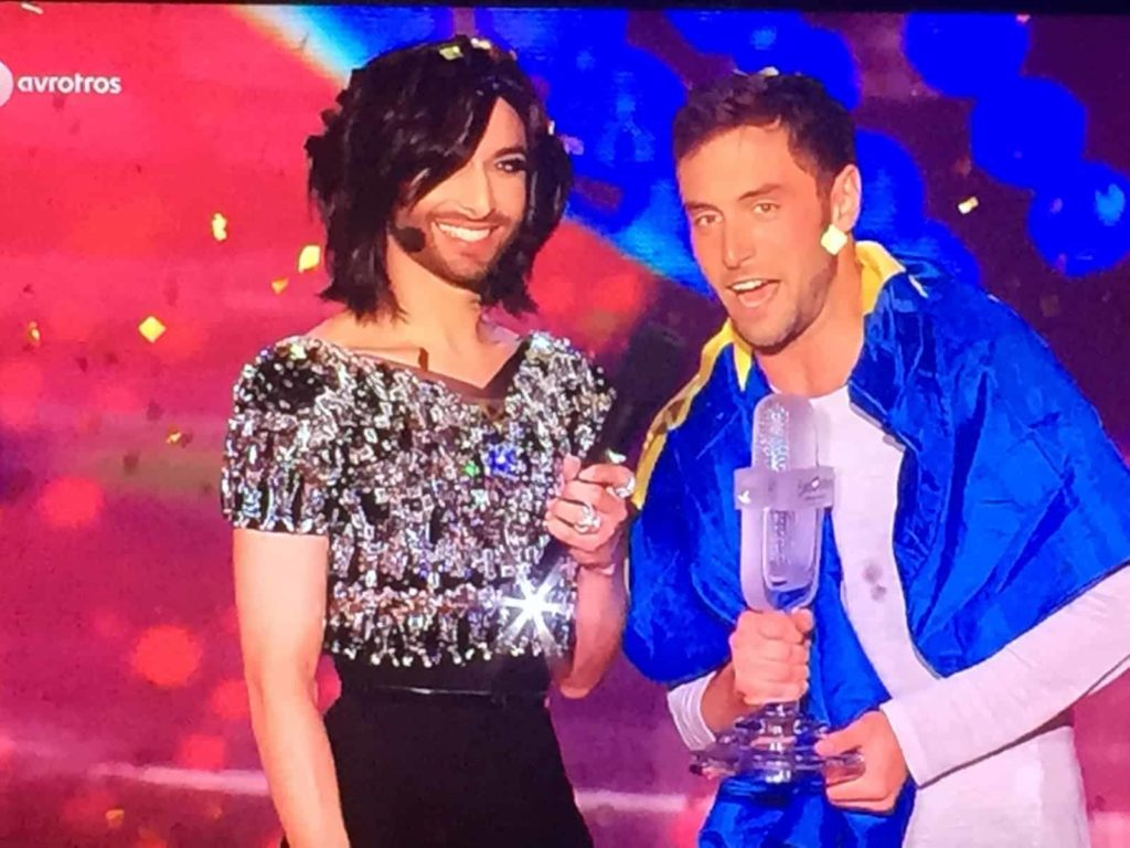 Conchita Wurst and Eurovision 2015 winnter