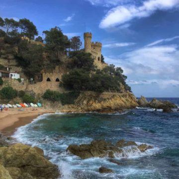 lloret de mar castle