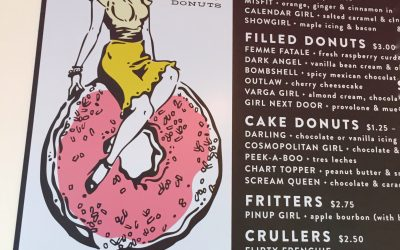 Retro Deliciousness at Glam Doll Donuts
