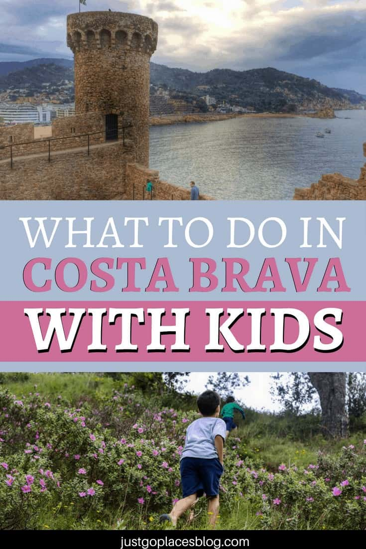 Sun, sand, sangria. The Costa Brava, Spain is famous (or infamous depending on your view) for all of these things. Costa Brava beaches are beautiful, but are not the only reason to visit Costa Brava with kids. Find out why you need to explore Costa Brava with the wholefamily! #costabrava #spain #travelwithkids #travelblog