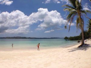 beach in Palawan Province The Philippines