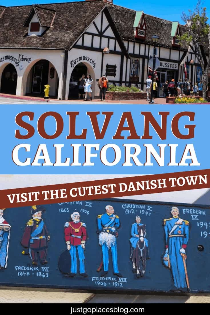 Have you ever heard of Solvang, a corner of Denmark in California? Solvang, California is the cutest little town to walk around in the central coast of California. Solvang boasts a traditional Danish architecture, and you can find all kinds of Danish products in its shops and restaurants. Pretty cool, uh? Check out the best things to do in Solvang, Ca! #solvang #california #californiadreaming #destinationguide