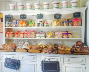 The Solvang Bakery store