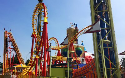 Visiting the Prater in Vienna For Theme Park Thrills