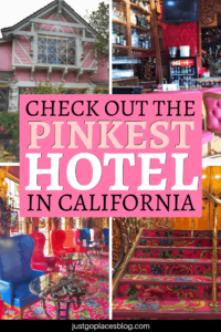Love a little bit of pink (or a lot of it)? Madonna Inn in San Luis Obispo, California, might possibly be the quirkiest hotel in California… and it's definitely the pinkest one. Imagine a crazy hotel that's never changed in 50 years with themed rooms such as a cave room, a 70's psychedelic room, and more instagrammable rooms. Check out this unique hotel - we stopped for lunch and highly recommend it! #madonnainn #sanluisobispo #california #centralcoast
