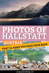 Hallstatt, Austria, is the ultimate picture-perfect village. Find out why you need to visit Hallstatt, what are the things to do in Hallstatt, and what makes it so special. Guaranteed: these pictures of Hallstatt will make you want to pack your bags right away!#Hallstatt #hallstattlake #hallstattaustria