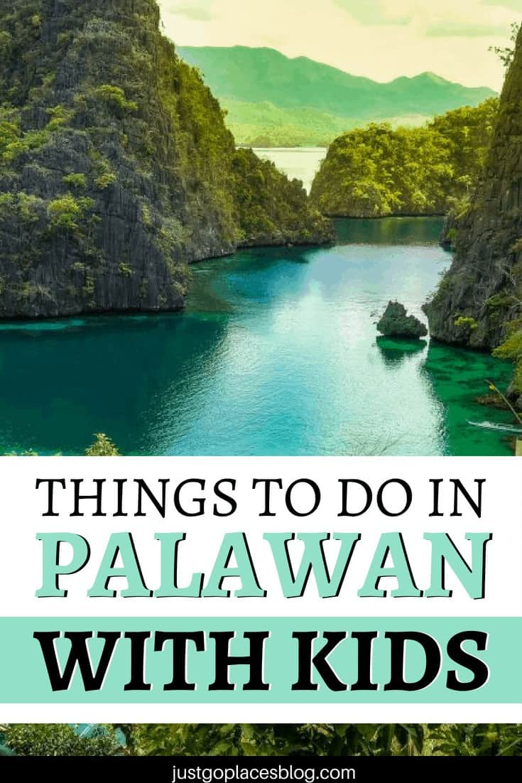 Palawan, Philippines is abolsoutely GOR-GE-OUS! Learn why you need to include it in your bucket list + what are the best things to do in Palawan with kids, beyond the beaches of course, with thus Palawan itinerary and all the Palawan travel tips you need for a wonderful trip to Coron with kids. #palawan #philippines #familytravel #coron
