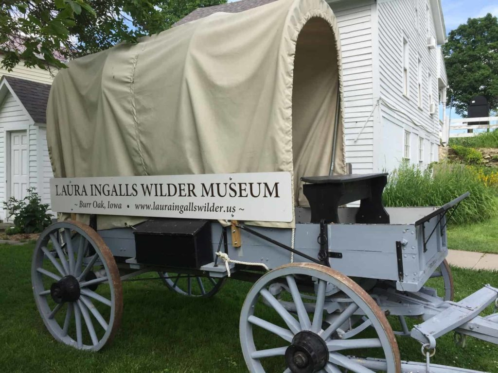 Burr Oak Iowa Laura Ingalls Wilder Museum