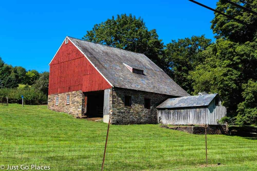 A barn in Bucks County
