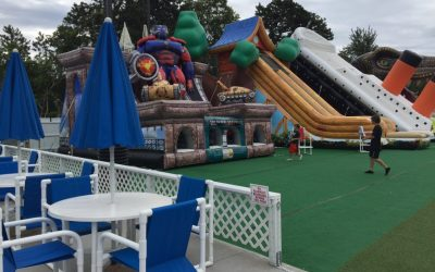 American Ninja Training at Cape Cod Inflatable Park