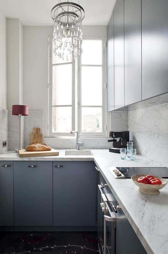 parisian kitchen