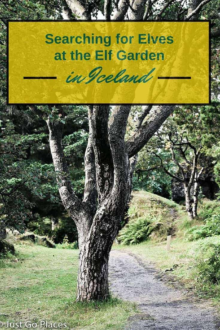 A visit to the Elf Garden in Iceland