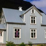 corrugated steel construction in Iceland