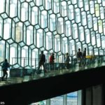 The Glittering Harpa Concert Hall in Reyjkavik