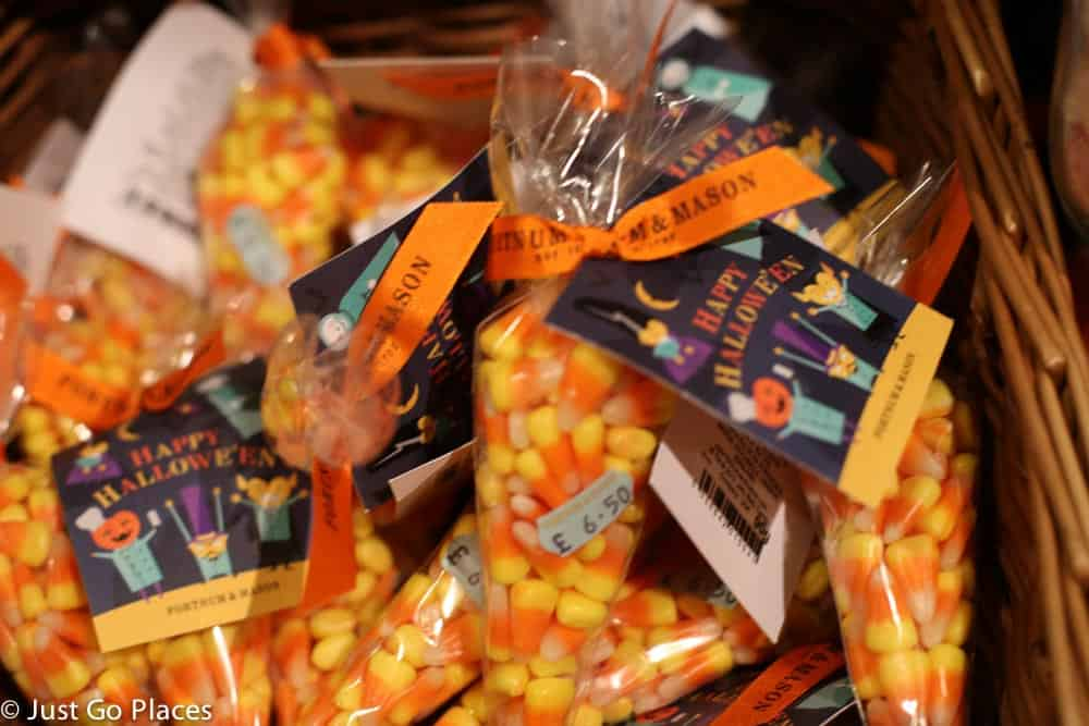posh candy stores in London