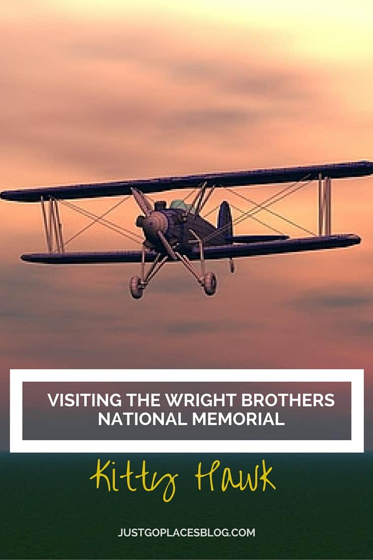 A vist to the Wright Brothers first flight at Kitty Hawk in North Carolina