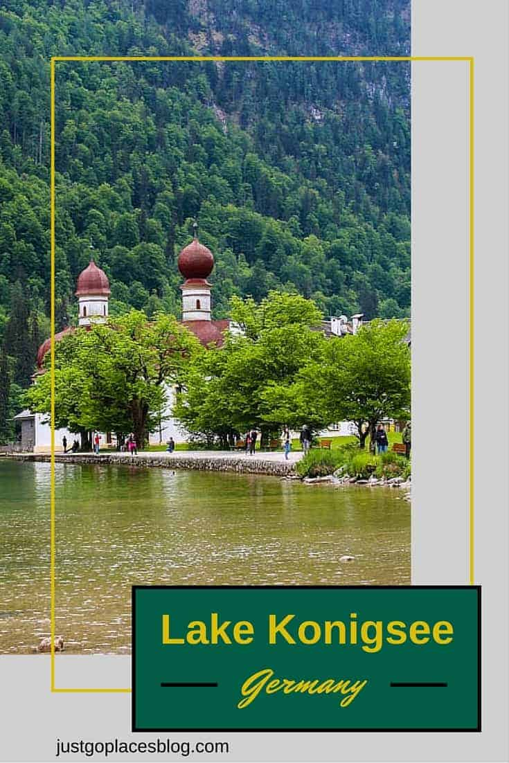 Lake Konigsee is Germany's cleanest lake and set in the Bavarian Alps