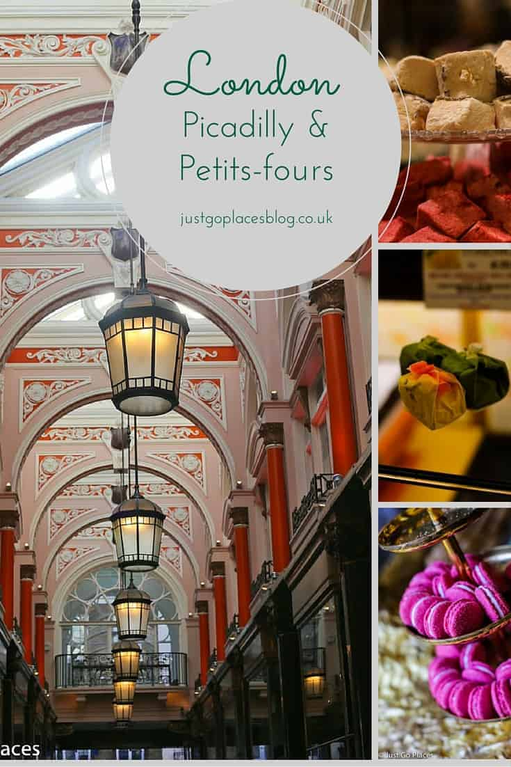 st. james's London tour of pica dilly and petits fours