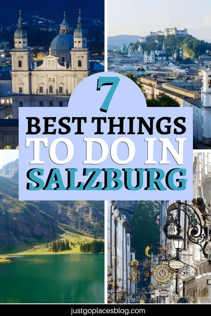 Wondering what to do in Salzburg? Although a small city, there are plenty of things to do in Salzburg with kids. If you venture further afield for a day trip, there are even more ways to explore the surrounding countryside of Salzburg with children.Check out these Salzburg travel tips. #salzburg #austria #familytravel #travelitinerary #soundofmusic