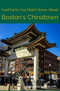 Cool facts about Boston's Chinatowns