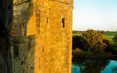 Medieval Grandeur at Beautiful Bodiam Castle