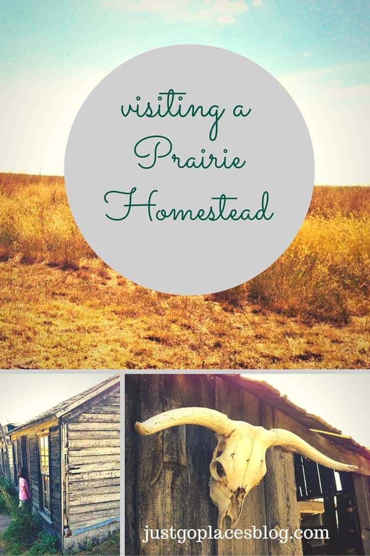 visiting the prairie homestead museum in south dakota's Badlands