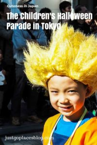 The Annual Children's Halloween Parade in Harajuku Tokyo