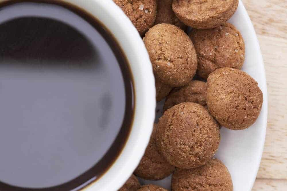 The Sinterklaas tradition of the Dutch involves ginger spice cookies