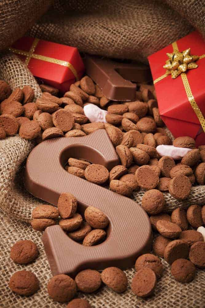 The Dutch tradition of Sinterklaas involves gifts of food