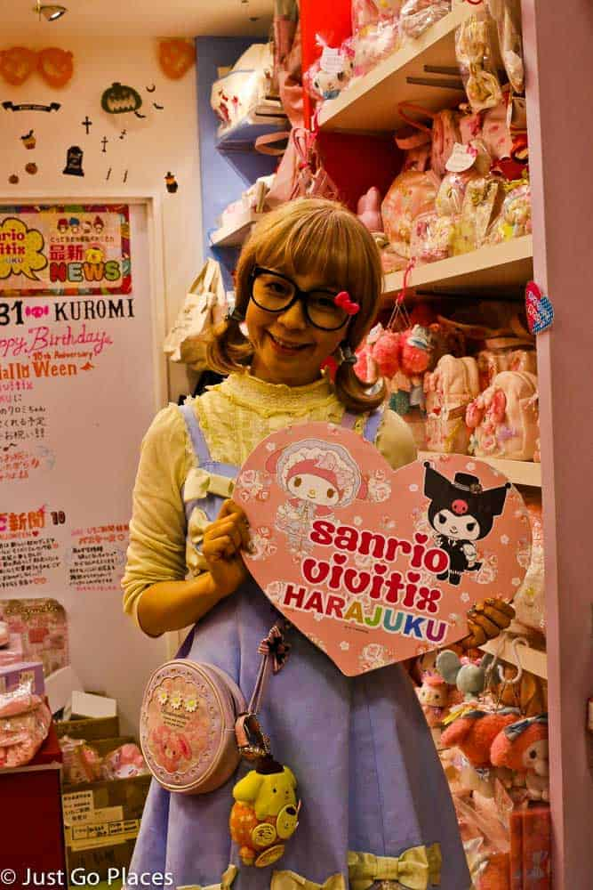 a day in trendy Tokyo Harajuku