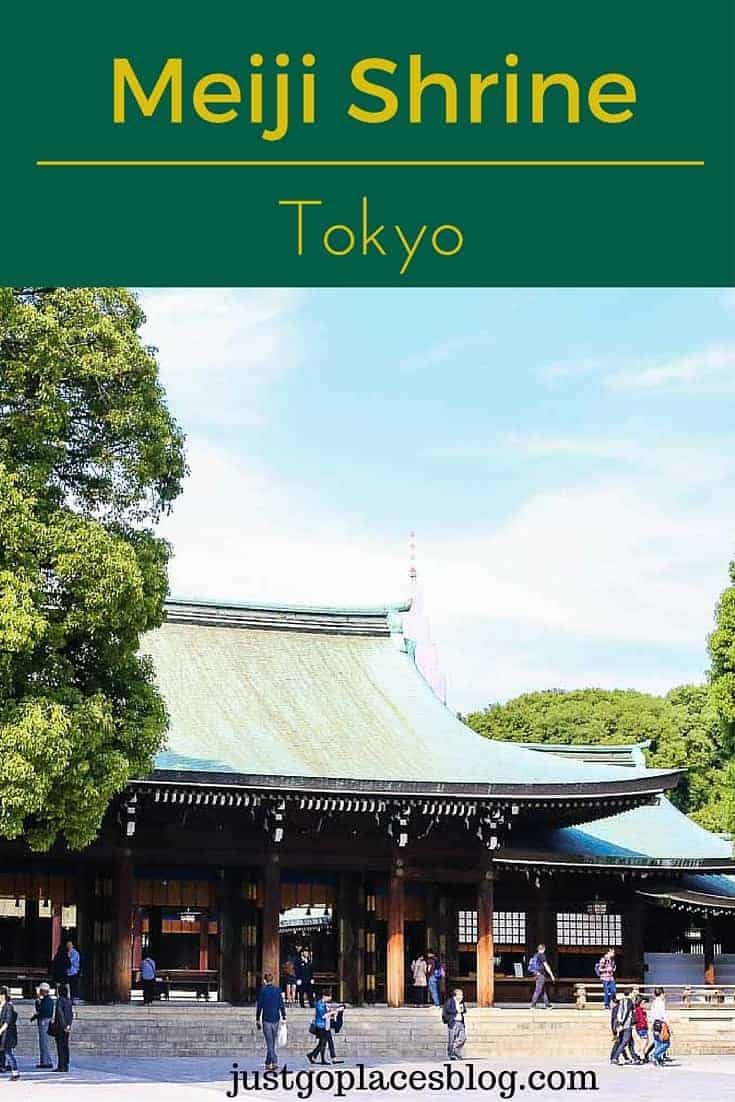 The Meiji Shrine in Tokyo is for the deified souls of Emperor Meiji and his consort