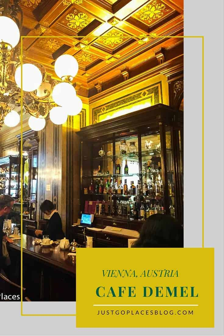 Demel Cafe in Vienna is the best known bakery and chocolate shop in the city