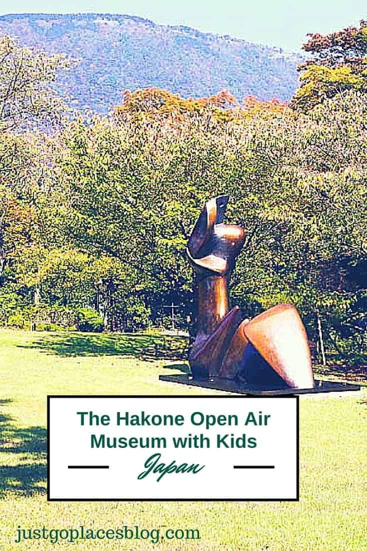 Visiting the Hakone Open Air Museum in Japan